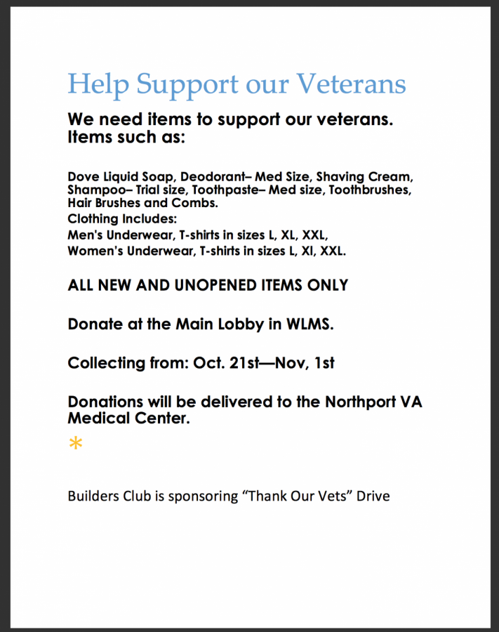 Help Support our Veterans