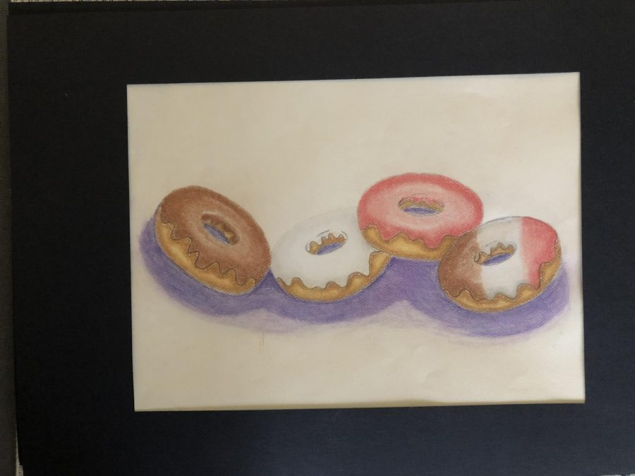 Ms. Herbert's 6th grade Pastel Donuts Project