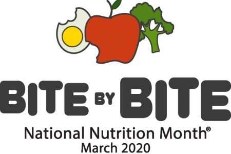 Ms. Zeller's class celebrating National Nutrition Month during the month of march. ​