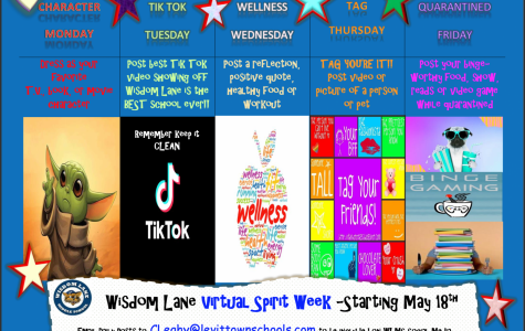 Wisdom Lane Virtual Spirit Week